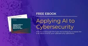 Applying AI to Cybersecurity Banner 1200x628