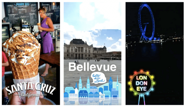Geofilter examples
