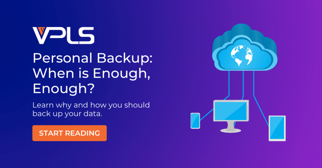 When and how to backup
