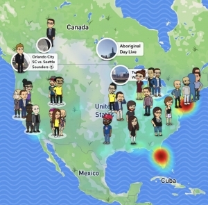 Snap Map location risks