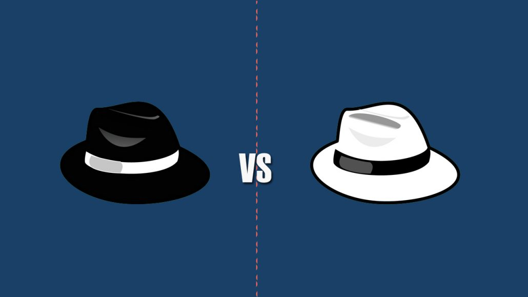 black hat hackers versus white hat hackers