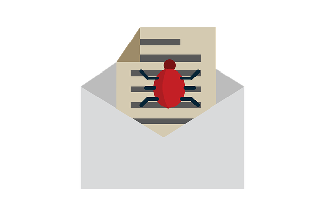 malware bug email cyber security