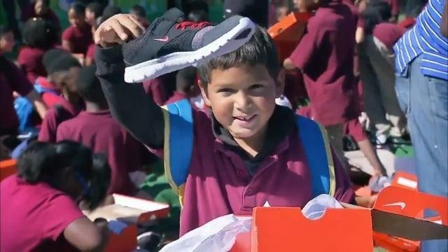children shoe drive charity